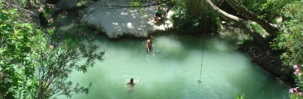 Adonis baths, Cyprus